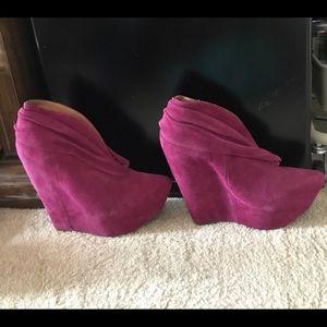 Jeffery Campbell Dark Pink size 10